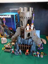Playmobil ***Rarität*** Felsenturm 3665-A/1993, mehr Zubehör, ausgedr. BA u.OVP!