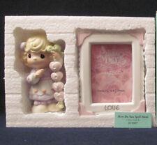 Nib Precious Moments Frame & Figurine # 115907 Gift Set ~ How Do You Spell Mom
