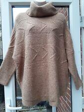 ladies brown warm oversize jumper 14