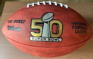 Wilson Super Bowl 50 game Duke football