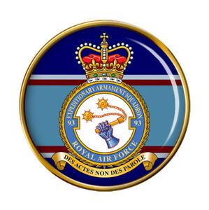 93 Expedicionaria Armamento Escuadrón, Raf Pin Insignia