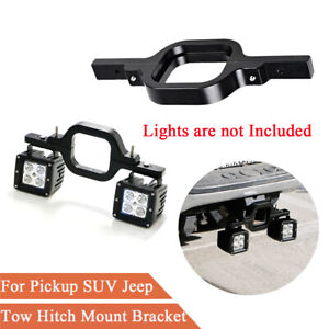 Off Road SUV Pickup Trailer Tow Hitch Reverse Light Mount Bracket Aluminum Alloy