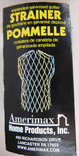 Amerimax Home Product Expanded Aluminum Gutter Strainer NEW IN BOX
