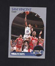 1990-91 Hoops Sam Vincent #223 Featuring Michael Jordan in #12 Jersey!!! RARE!!!