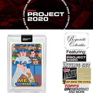 Topps Project 2020 - 1969 Nolan Ryan - Card #397 by Keith Shore +Trout/Griffey/+