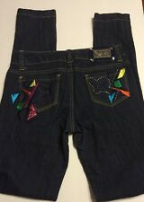 ROCAWEAR Party Club Fiesta Embroidered Jeans 3