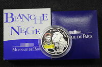 1 1/2 EURO ARGENTO PROOF BIANCANEVE FRANCIA 2002 - SILVER COIN PROOF