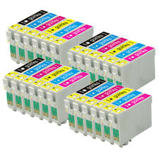 24 Ink Cartridges (Set) for Epson Stylus Photo P50, PX720WD, PX830FWD