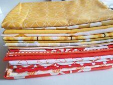 Fat Quarter Bundle of Moda & Andover Fabrics - 16 Orange & Yellow FQs