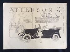 1919 Vintage Automobile Ad ~ Nation's Business ~ Apperson 8 ~ Kokomo IN