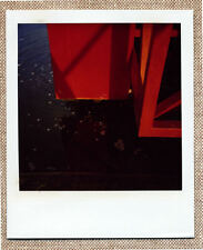 SOLARISTIK, PHOTO POLAROID ORIGINALE : CITÉ DÉTAIL FOLIE ROUGE