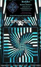 Spin Out 3-D Illusion Quilt Pattern KwiltArt Strip Pieced