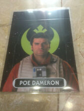 STAR WARS Force Awakens - Force Attax Extra Trading Card #131 Poe Dameron