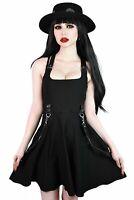 Killstar Oh My Ghoul Skater Gothic Punk Bondage Straps Harness Dress KSRA002230