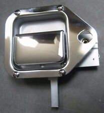 BRAND NEW OEM KENWORTH T600 OUTSIDE LEFT TOOL COMPARTMENT CHROME DOOR HANDLE