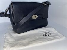 Mulberry Midnight Blue leather Bayswater shoulder cross body satchel bag