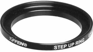 New Tiffen 55 to 67mm Step-Up Black Ring 55mm to 67mm 5567SUR