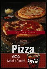Original AMC UNO PIZZA COCA COLA D S Theatre Poster GREAT FOR A HOME
