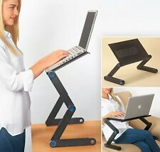360°Adjustable Folding Laptop Notebook PC Desk Table Vented Stand Bed Sofa Tray