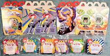 1996 McDonald's Happy Meal Toys -  HOT WHEELS  - Mint Set (5) + U-3 + 4 Boxes