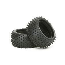 Tamiya 53084 6029 Square Spike Rear Tyres (2pcs) - RC Hop-ups