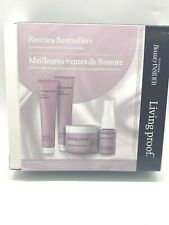 Living Proof Restore Bestsellers ~ Shampoo Conditioner Mask Spray KIT ~ Travel