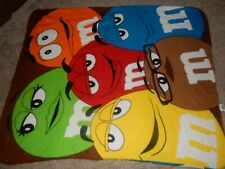 Ln 50x60 M&M'S Candy Character Fleece Throw Blanket Toddler Bed Couch
