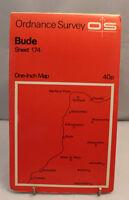 Ordnance Survey - One Inch Map - Bude - Sheet 174 - 1965