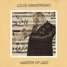 Louis Armstrong  – Master Of Jazz 1986 sehr rar