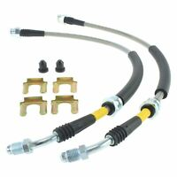 For Volvo S40 2004-2012 StopTech 950.61010 Stainless Steel Front Brake Line Kit