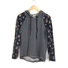 Maurices Women's Flowers Hoodie Pullover Sweatshirt - Medium M