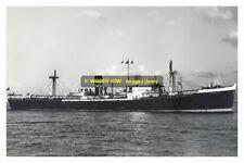 rp12228 - Harrison Line Cargo Ship - Naturalist , built 1943 - photo 6x4
