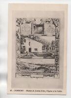 DOMREMY - Maison de Jeanne d'Arc, l'église et la vallée    (J1471)