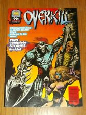 OVERKILL #49 MARVEL UK COMIC MAGAZINE DEATHS HEAD