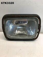 KAWASAKI GPZ 750  GPZ 900  1986 HEAD LIGHT & MOUNT PLATE OEM   LOT67 67K3320
