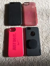 Iphone 5/5s/SE Lot Of 4 Cases