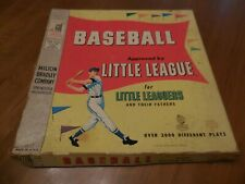 Vintage ('58) Baseball Board Game For Little Leaguers! Near Complete & Rare!
