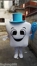 New 2016 Tooth Mascot Costume Adult Size EPE Dentist with toothbrush