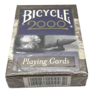 VTG Bicycle 2000 Playing Cards Millennial Limited Edition Card Deck New & Sealed