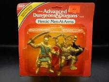 MOC 1982 tsr HEROIC MEN AT ARMS Advanced Dungeons & Dragons PVC figure set LJN !