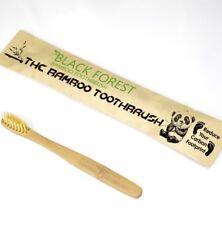 1 x Premium Natural Bamboo Toothbrush   Soft/Medium Bristles for Sensitive Gums