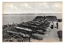 Kronborg - Flagbatteriet Real Photo Postcard c1950s