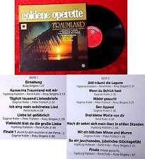 LP Goldene Operette: Traumland (Gesamtaufnahme) (Telefunken Hör Zu 622978 AF) D