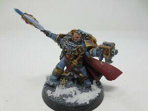Warhammer 40K Space Wolves lord Krom Well painted OOP Resin G289