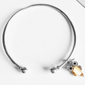Silver jewelry Owl Bracelet Bangle Cuff Fashion Bracelets for Womens Female