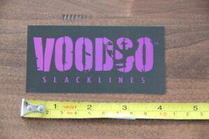 VOODOO Slackline STICKER Decal NEW