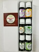 Aromatherapy Top 6 - 100% Pure Therapeutic Grade Basic Sampler Essential Oil Gif