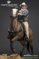 OLD & RARE: JOHN WAYNE on HORSE 1/6 STATUE 48 cm INFINITE