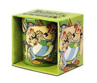 Asterix und Obelix with ROMANS Porzellan TASSE Logoshirt Germany NEU boxed