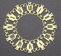 ZIFFERBLATTRING D 104 Zifferblatt Reif f Tischuhr Stiluhr Uhrwerk Uhr clock dial